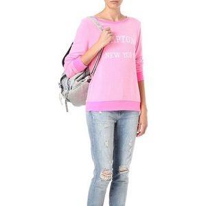 Wildfox Pink Hamptons New York Sweater